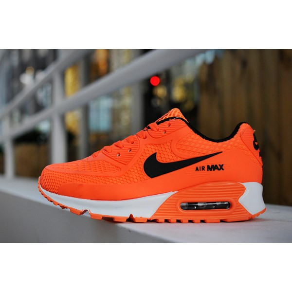 nike air max 90 junior noir orange