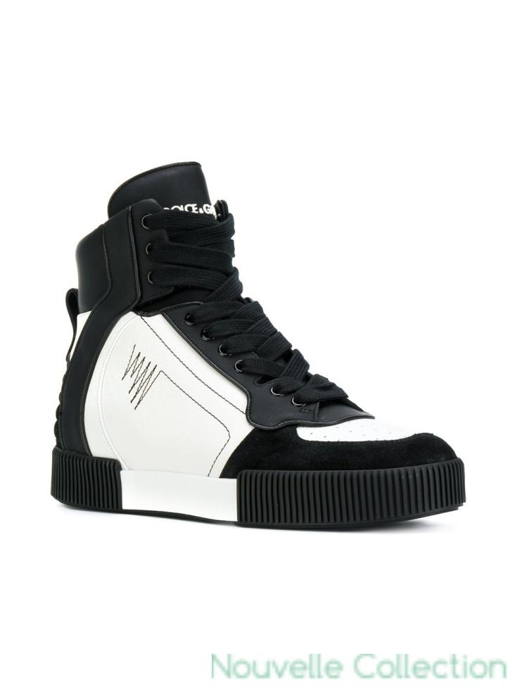 chaussure dolce gabbana homme blanche