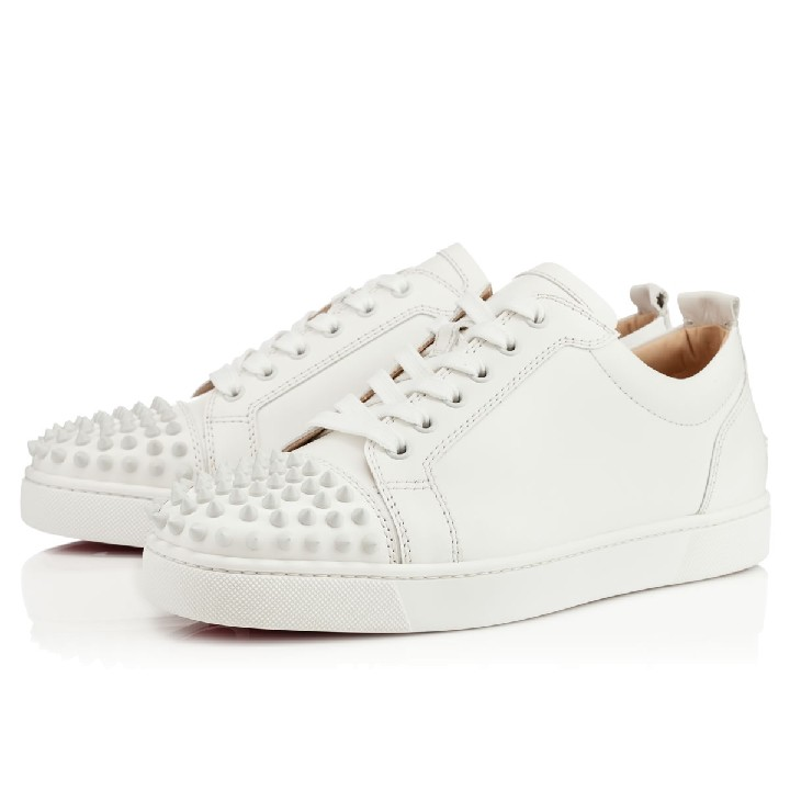 louboutin homme basse blanche
