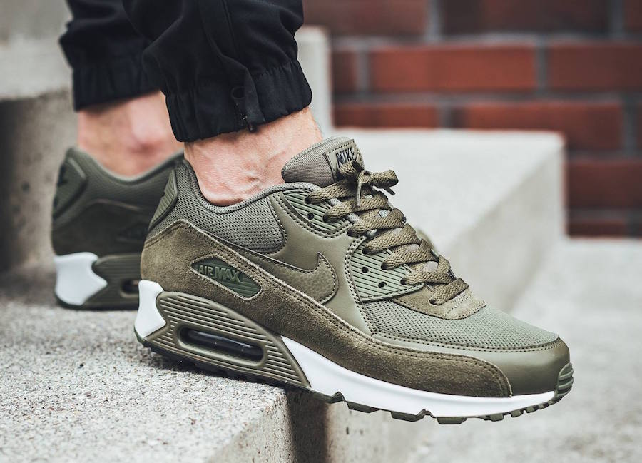 Homme Nike Air Max 90 Essential Medium Olive